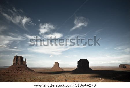 Monument Valley. Utah, USA