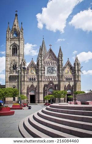 Monuments of Guadalajara, Jalisco, Mexico - stock photo