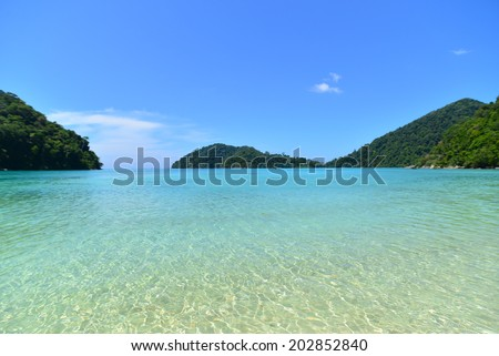 moo koh surin island ,Phang Nga, Thailand - stock photo