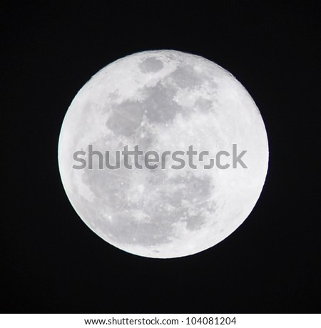 Moon - stock photo
