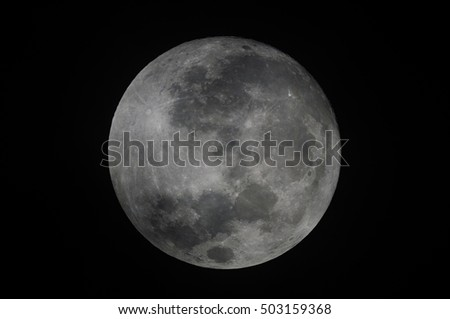 Moon at it largest or supermoon