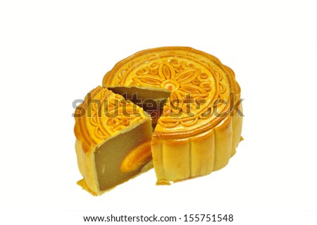 Moon cake for celebrate in Chinese Mid-autumn festival