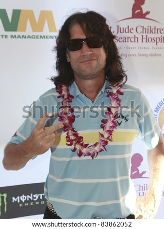 MOORPARK, CA - AUG 29: Tommy Thayer attends the 4th Annual Scotty Medlock and Robby Krieger Celebrity Golf Invitational and Concert  on August 29, 2011 in Moorpark, California