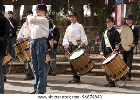 Fife And Drum Band Stock Images, Royalty-Free Images & Vectors ...