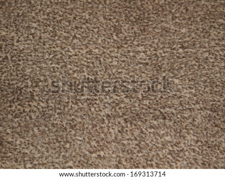 Moquette fabric carpet useful as a background