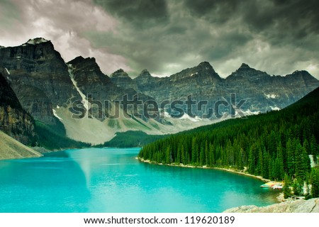 Moraine Lake, Banff National Park Alberta