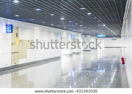 morden office building - stock photo