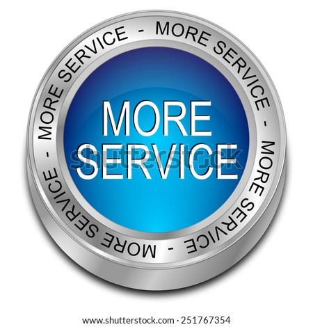more Service button - stock photo