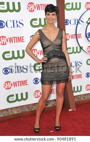 Morena Baccarin at the CBS Summer 2011 TCA Party at The Pagoda, Beverly Hills. August 3, 2011  Los Angeles, CA Picture: Paul Smith / Featureflash - stock photo