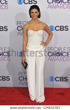 Morena Baccarin at the People's Choice Awards 2013 at the Nokia Theatre L.A. Live. January 9, 2013  Los Angeles, CA Picture: Paul Smith