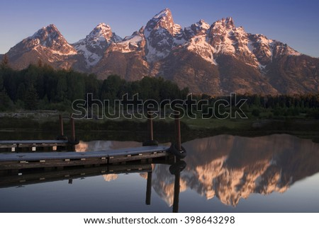 Morning in Grand Teton National Park
