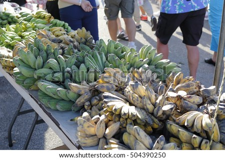 Morning market in dededo, Guam