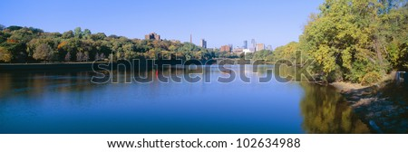 Morning, Minneapolis, Minnesota - stock photo