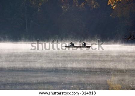 Morning Mist - stock photo