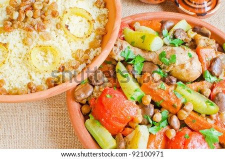Couscous Stock Photos, Couscous Stock Photography, Couscous Stock ...