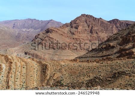Morocco. Atlas mountains - stock photo