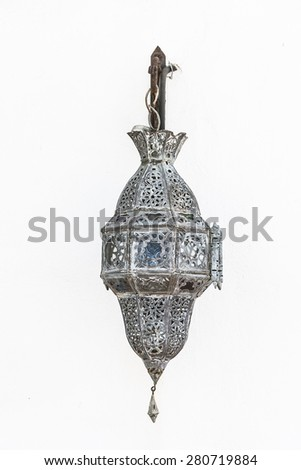 Morocco lamp - vintage effect