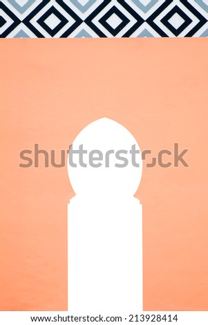 Morrocan decoration - stock photo