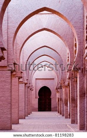 Morrocan Mosque - stock photo