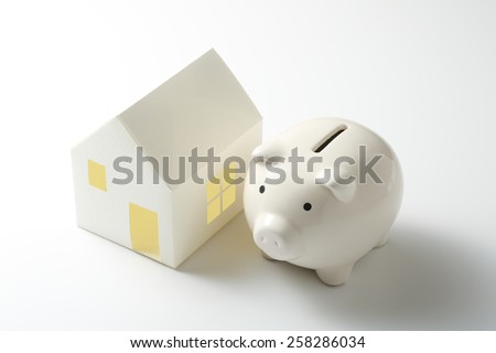 Mortgage - stock photo