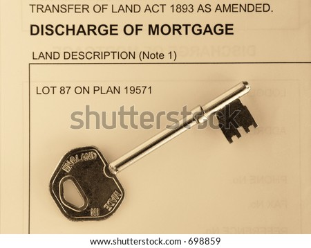 title search discharge of mortgage how to read