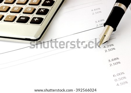 Mortgage rate concept.  Will you be able to pay off car, student of other loans if rates rise. - stock photo