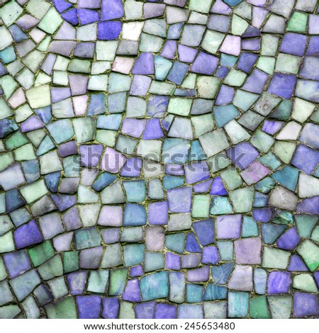 Mosaic - stock photo