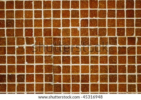 Mosaic close-up texture background - stock photo