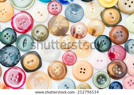 Mosaic consists of several clothing buttons