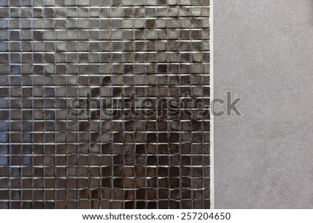 mosaic texture background template - stock photo