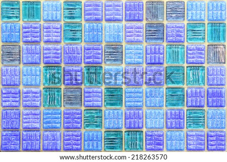 mosaic texture. (High.res.) - stock photo