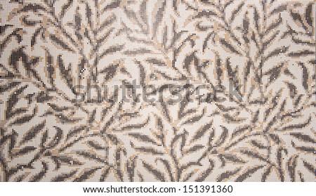 mosaic tile background - stock photo