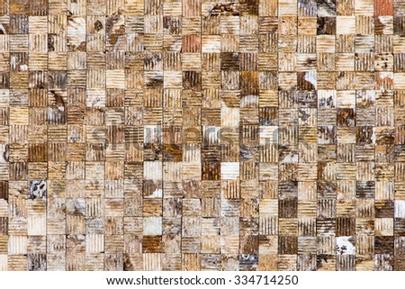 Mosaic tiles texture - stock photo