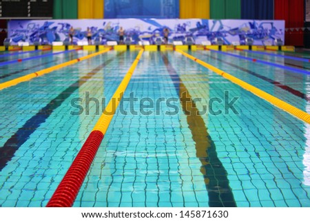 Olympic Swimming Pool Stock Images Royalty Free Images Vectors Shutterstock