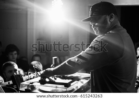 Moscow 19 December2015 Concert Famous American Stock Photo