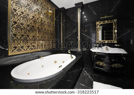 Maxim apryatin 39 s portfolio on shutterstock for Baroque style bathroom