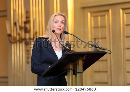 Moscow, russia- feb 15: lael brainard - under secretary of the