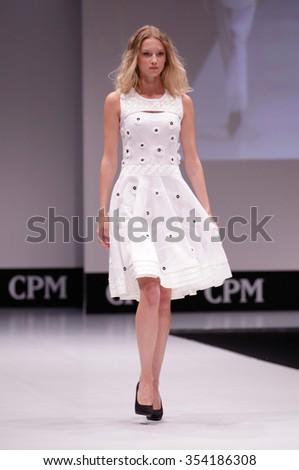 Moscow, Russia -: Leading fashion trade show on September 23, 2015 in Moscow ,Russia