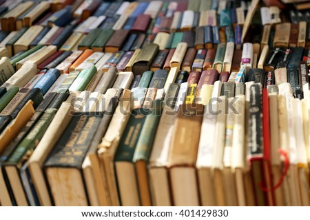 Moscow,Russia-may 2015:books on store shelves