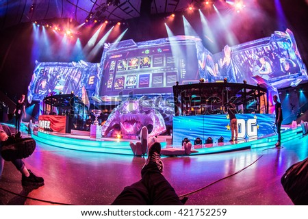 moscow russia may 15 2016 epicenter stock photo 421752259