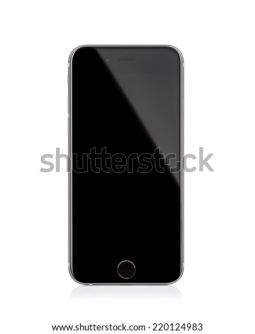 MOSCOW, RUSSIA - SEPTEMBER 27, 2014: New iPhone 6 is a smartphone developed by Apple Inc. Apple releases the new iPhone 6 and iPhone 6 Plus