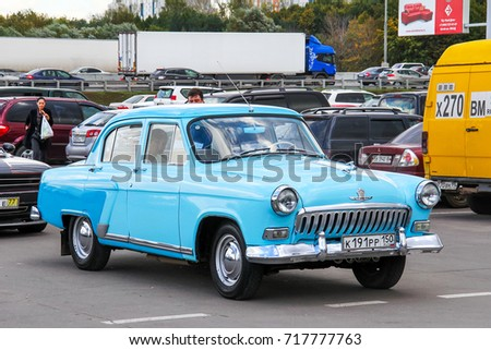 In Germany, selling an unusual GAZ-21 at the price of sports cars ...