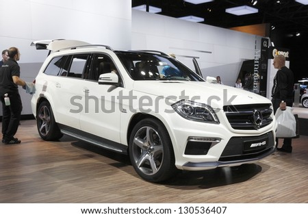 MOSCOW-SEPTEMBER 3:Mercedes-Benz AMG at the Moscow International Motor Show on September 3,2012 in Moscow