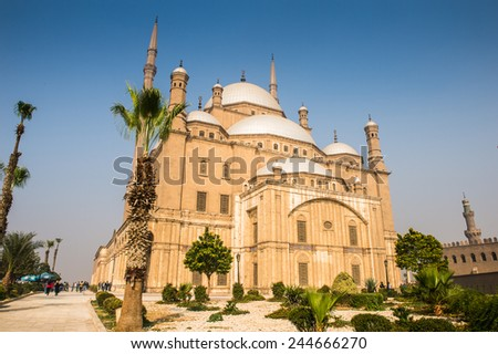 Mosque of Muhammad Ali Pasha or Alabaster Mosque , the Citadel of Cairo, Egypt