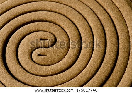 Mosquito repellent coils  - stock photo