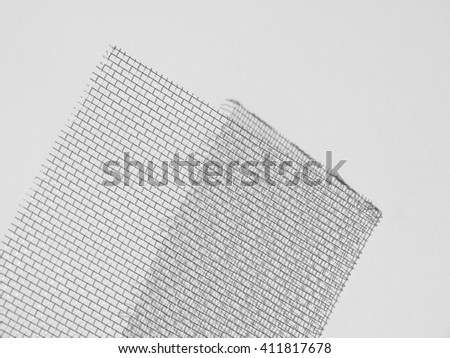 mosquito wire screen - stock photo