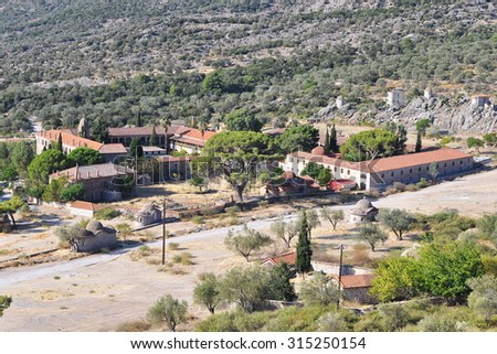most beautiful monastery of iland Lesbos,Limonos