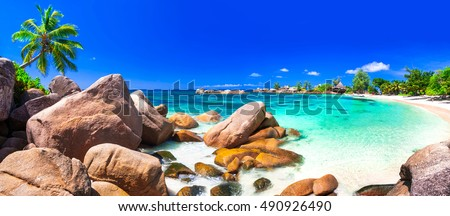 most beautiful tropical beaches - Seychelles, Praslin island