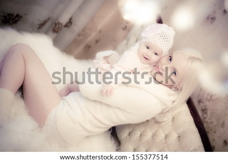 Mother and daughter-forever love