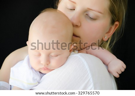 Mother and her Newborn Baby